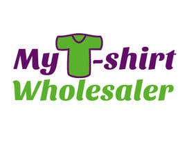 #22 para Design a Logo for a T-shirt wholesale website por danadanieladana