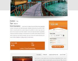 nº 38 pour Website mockup: one page par web92
