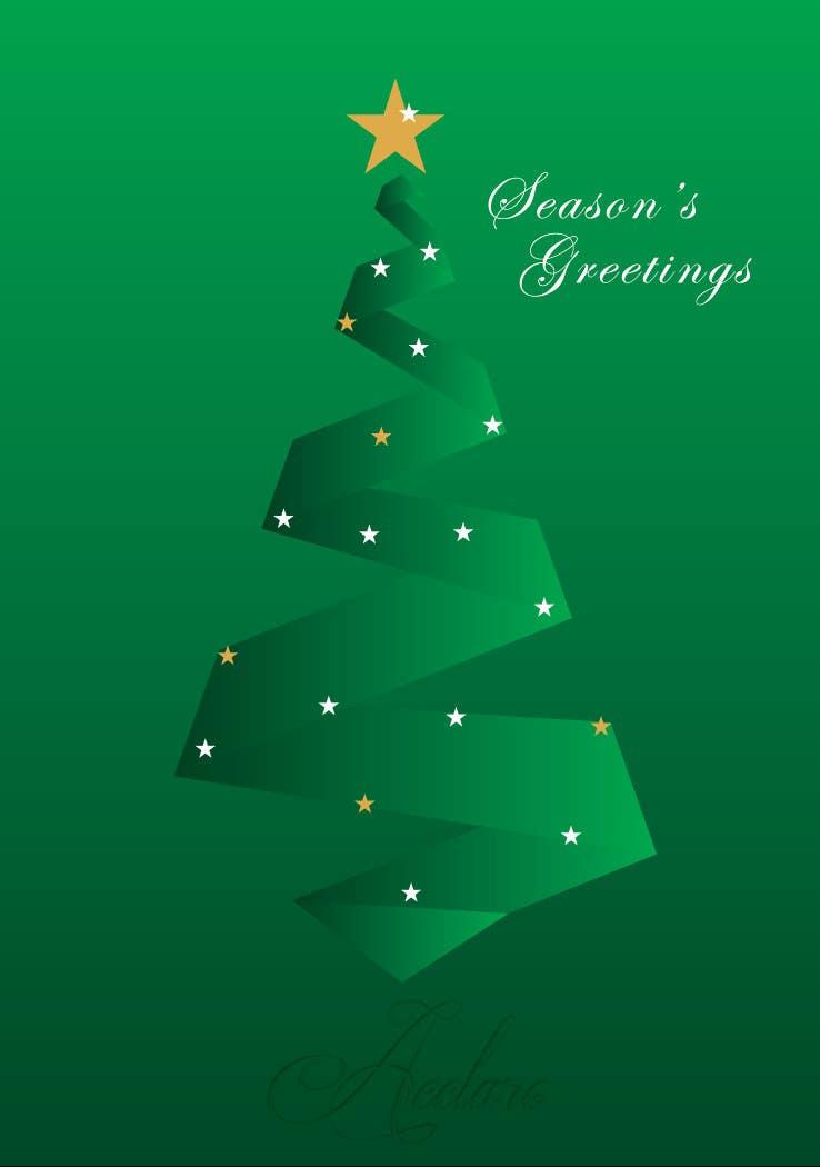 Proposition n°47 du concours Christmas card