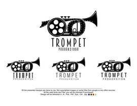 Nro 16 kilpailuun Trompet Prodüksiyon İçin Bir Logo Tasarla käyttäjältä MehrdadPN