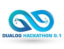 Nro 16 kilpailuun Design a sticker for a company hackathon. käyttäjältä tk6986