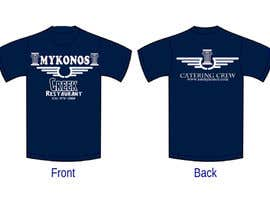 #48 untuk Design a T-Shirt for Mykonos Greek Restaurant oleh jojohf