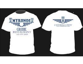 #49 para Design a T-Shirt for Mykonos Greek Restaurant por jojohf