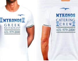 #21 para Design a T-Shirt for Mykonos Greek Restaurant por pilipushko