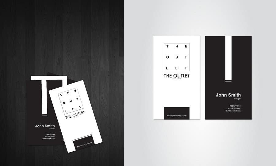 Penyertaan Peraduan #                                        29                                      untuk                                         Business Card Design for The Outlet Fashion Company