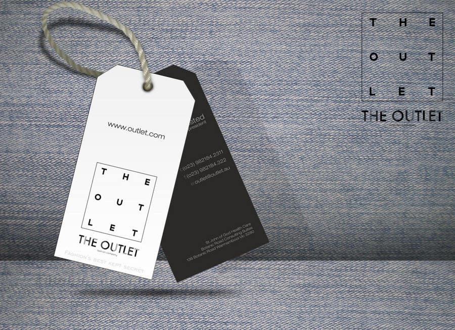 Penyertaan Peraduan #                                        30                                      untuk                                         Business Card Design for The Outlet Fashion Company