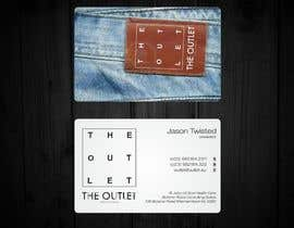 #51 untuk Business Card Design for The Outlet Fashion Company oleh F5DesignStudio
