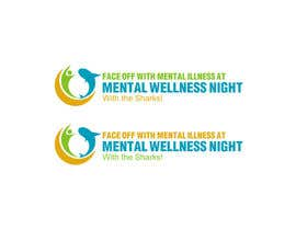 Nro 26 kilpailuun Design a Logo for Mental Wellness Night with the Sharks! käyttäjältä Superiots