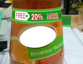 #207 para Design Sticker For Jam Bottle por maxtvprogram