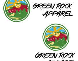 #19 para Design a Logo for Green Rock Apparel por ghenox