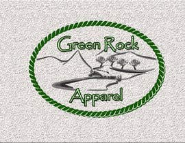 nº 22 pour Design a Logo for Green Rock Apparel par MadaU