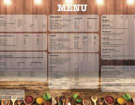 Nro 29 kilpailuun Design a Brochure(A4 FOLDED)  FOR Curry Hurry käyttäjältä begiehimonda