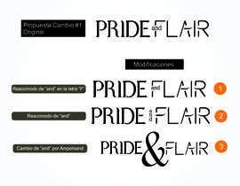 Nro 123 kilpailuun Diseñar un logotipo para la marca de ropa femenina Pride and Flair käyttäjältä Eve17