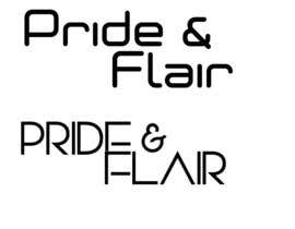 Nro 92 kilpailuun Diseñar un logotipo para la marca de ropa femenina Pride and Flair käyttäjältä eribugui