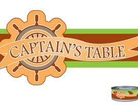 #106 untuk Design a logo for the brand 'Captain's Table' oleh rogeliobello