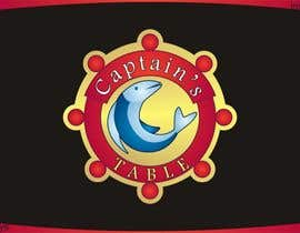 #93 untuk Design a logo for the brand 'Captain's Table' oleh innovys