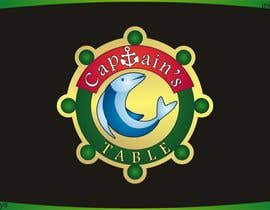 #100 para Design a logo for the brand 'Captain's Table' por innovys