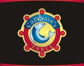 #102 untuk Design a logo for the brand 'Captain's Table' oleh innovys