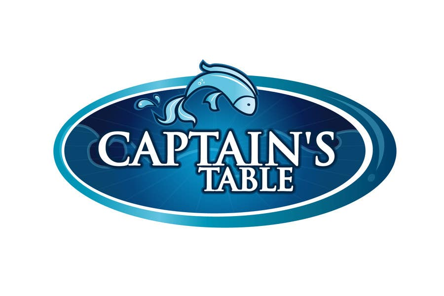 Penyertaan Peraduan #36 untuk Design a logo for the brand 'Captain's Table'