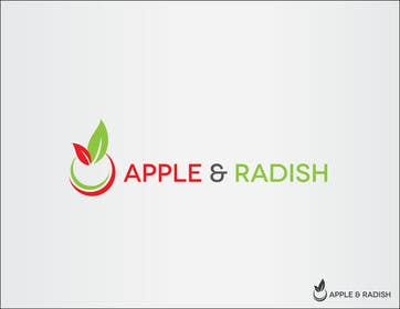 "#34 para Design a Logo for ""Apple & Radish"". Need urgently por iffikhan"