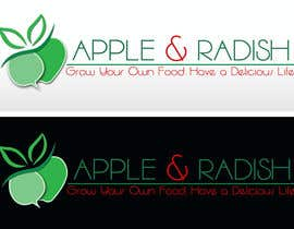 "#37 for Design a Logo for ""Apple & Radish"". Need urgently by ayubouhait"