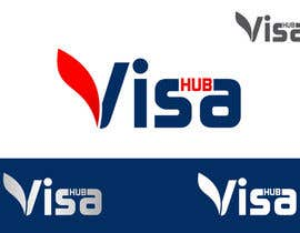 #143 para Logo Design for Visa Hub por ulogo