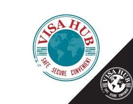 #102 para Logo Design for Visa Hub por egreener