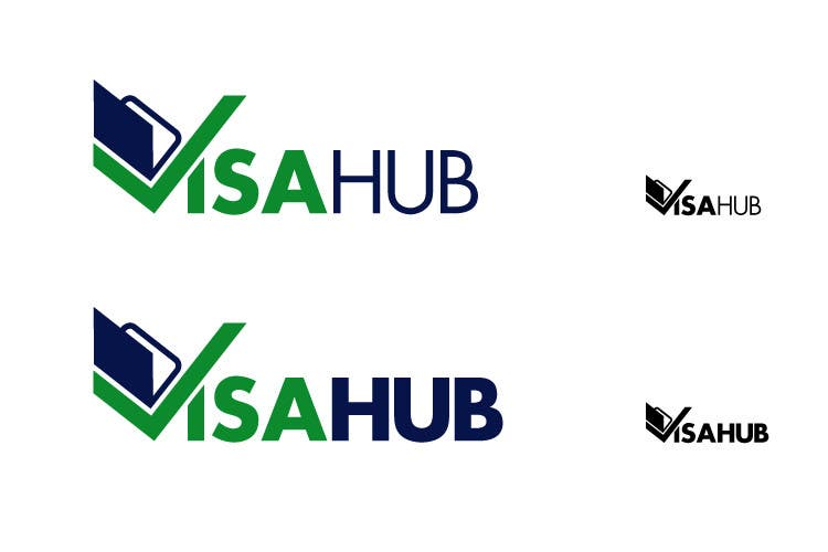 #69 for Logo Design for Visa Hub by hoch2wo
