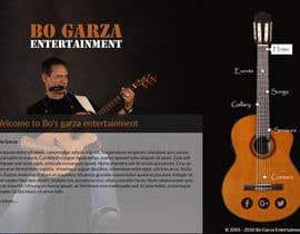 shreshthauni09 tarafından Design a Website Mockup for a Country Musician için no 24