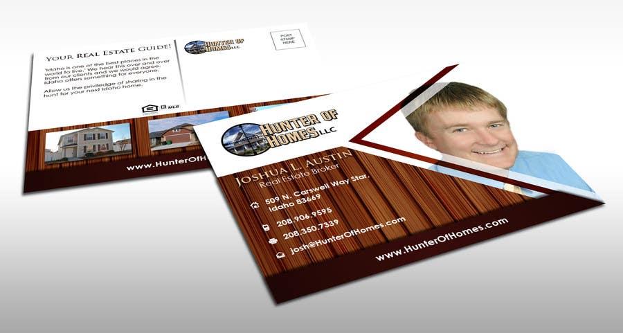 Design Realtor Marketing Postcards için 11 numaralı Yarışma Girdisi