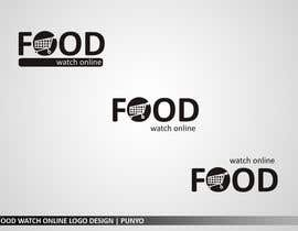 #218 pentru Logo Design for Food Watch Online de către punyo