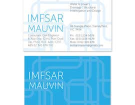 #69 untuk Design some Business Cards for Imfsar Mauvin oleh Katace