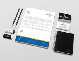 Nro 59 kilpailuun Design  a Brand Identity - Logo, Business Cards, and Brochure mock-up käyttäjältä designbdplus