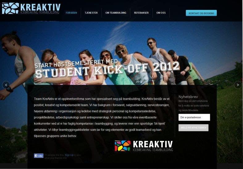 #1 for Logo Design contest for Kreaktiv by chenjingfu
