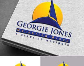 Nro 56 kilpailuun :Design a Logo for a new business: georgie jones 4 step marketing group käyttäjältä colorgraphicz