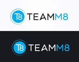 Nro 258 kilpailuun Redesigning the teamm8 logo käyttäjältä YessaY