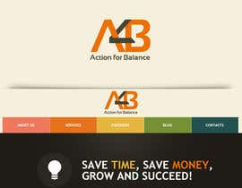 nº 67 pour Design a Logo for Action 4 Balance Coaching practice par crossartdesign