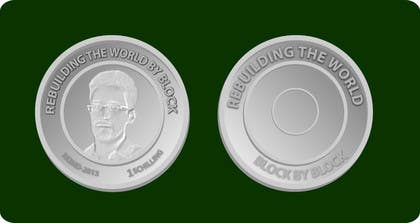 #32 for I need some Graphic Design for a coin token by mahossainalamgir