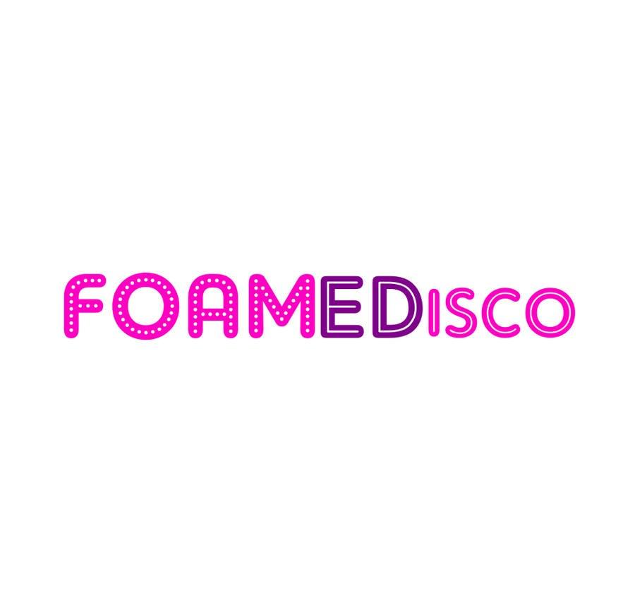 Kilpailutyö #55 kilpailussa Foamedisco logo