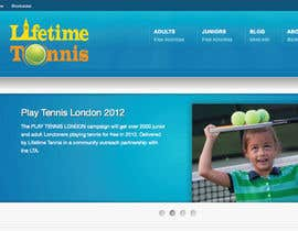 #45 for Logo Design for Lifetime Tennis af emilymwh