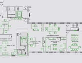 valle79 tarafından Office Floorplan Design için no 5