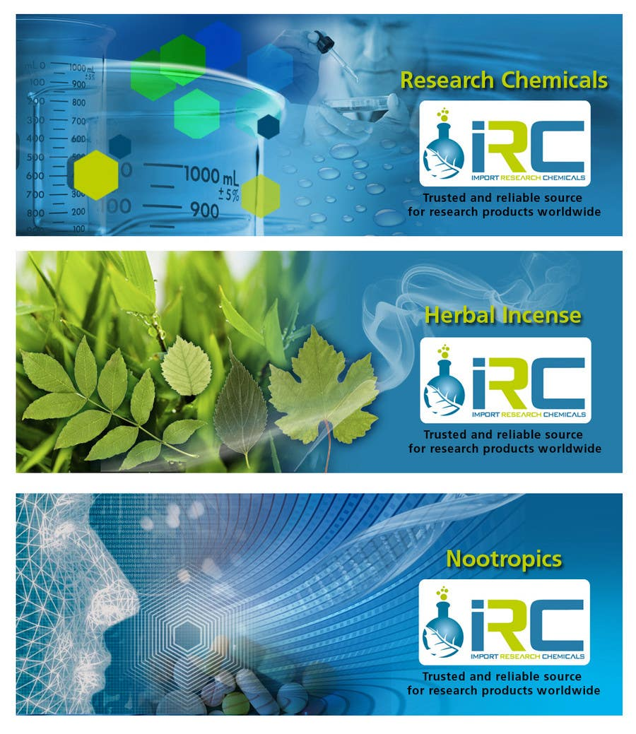 Bài tham dự cuộc thi #4 cho Banner Ad Design for Import Research Chemicals
