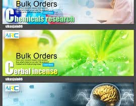#11 para Banner Ad Design for Import Research Chemicals por vikasjain06