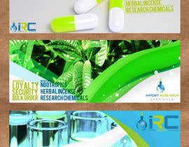#15 para Banner Ad Design for Import Research Chemicals por HarisKay