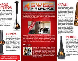 #8 untuk Design a Flyer for my company selling fireplaces oleh Creative00