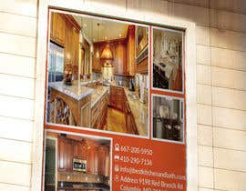 #4 for Advertisement/Flyer Design for Kitchen Remodeling Company by bakhtear05