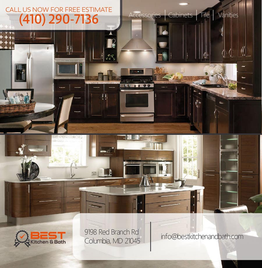 Entry 3 by anjusnav for advertisement flyer design for for Kitchen remodeling companies