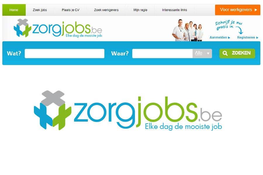 #281 for Design Logo for zorgjobs.be by puntocreativoCo