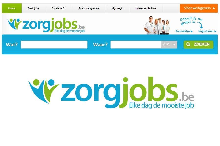 #545 for Design Logo for zorgjobs.be by puntocreativoCo