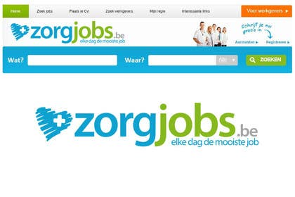 #564 for Design Logo for zorgjobs.be by puntocreativoCo